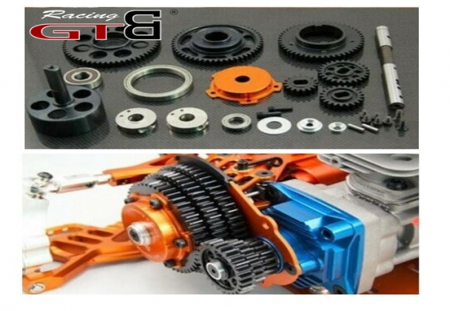 3 speed Variable Gear Shift System for hpi km rovan baja 5b ss 5t 5sc