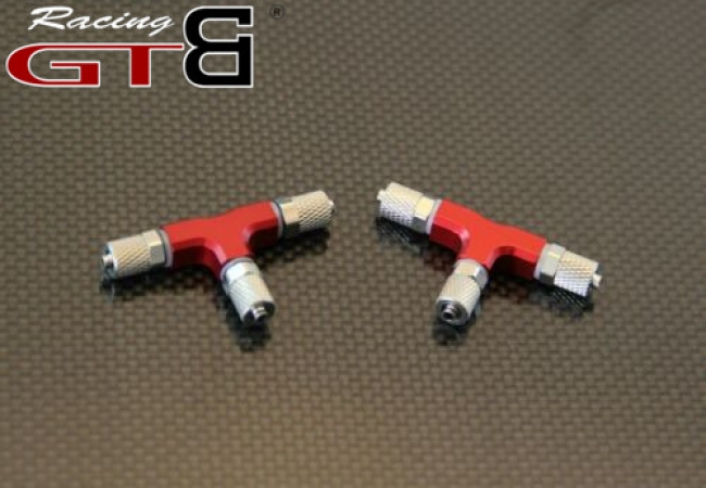 Baja 5B hydraulic brake system three-way oil pipe joint universal