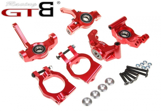 Front Spindle +Rear Wheel Hub Carrier + C-Hub for RC 1/5 Car LOSI DBXL,MTXL